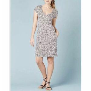 Boden Curved Waist Sean Jersey Dress 12